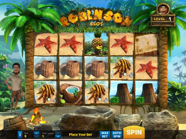 робинзон онлайн игровые автоматы